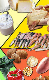 Hierro en alimentos
