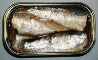 sardinas, alimento rico en hierro